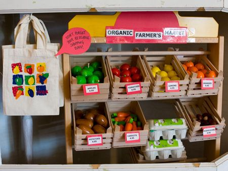 Kids on the Hip - Organic Farmers Market toy