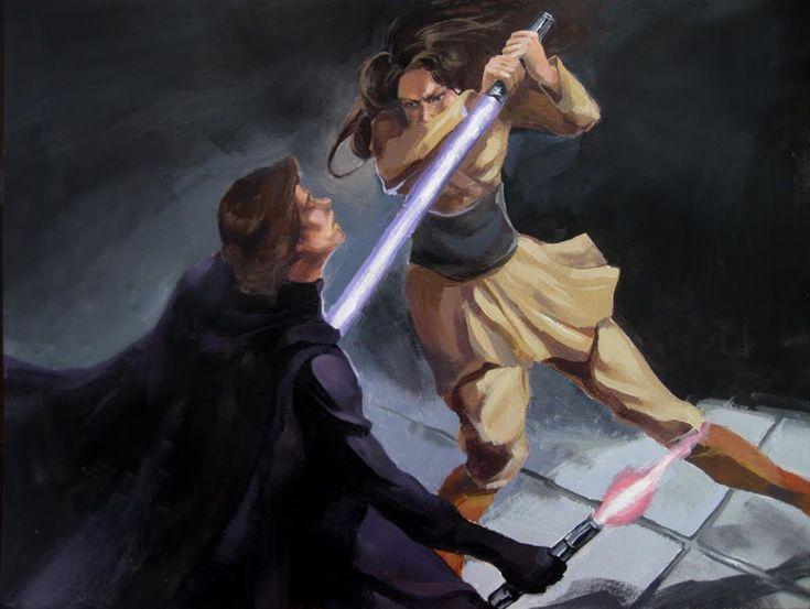 Jaina Solo kills Darth Caedus