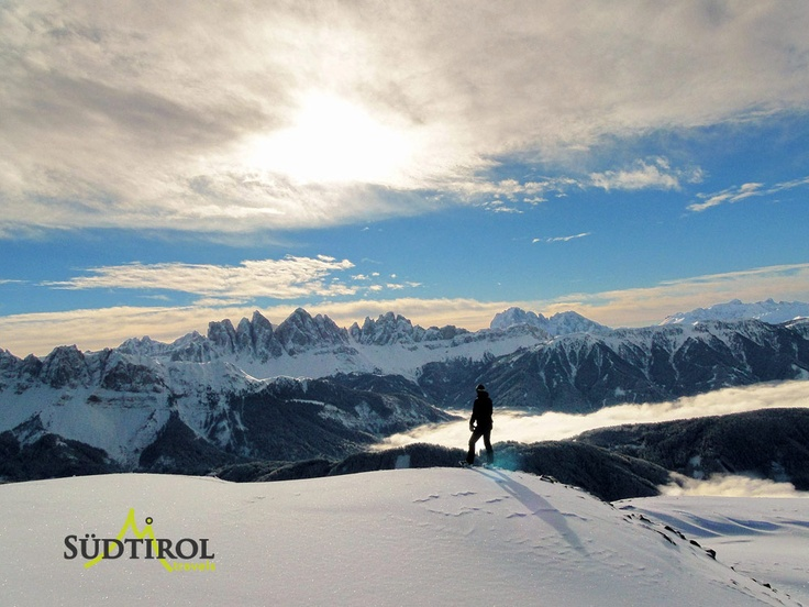 Blick zu den Geisler Spitzen - Dolomiten
