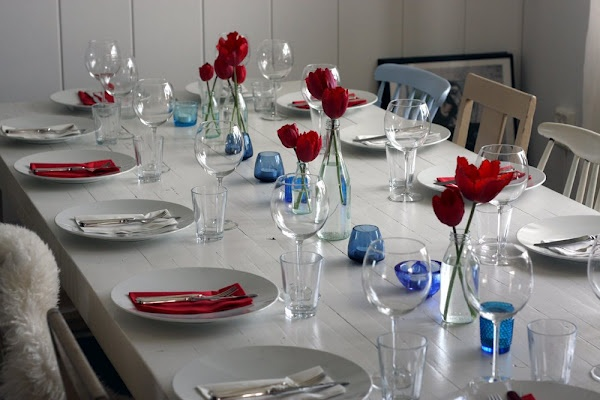 Hei Astrid: the 17th of May-beautiful table!!