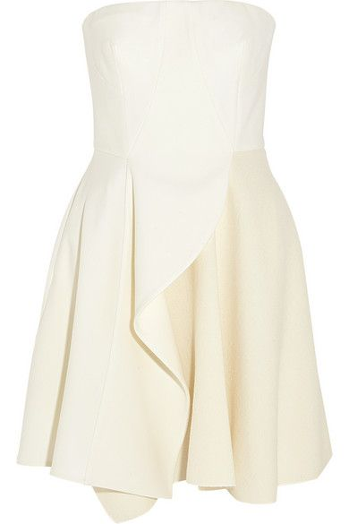 Stella McCartney | Marcy stretch-wool and wool-blend crepe mini dress | NET-A-PORTER.COM