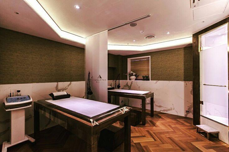 samantha luxury beauty salon  design by ssomoodesign