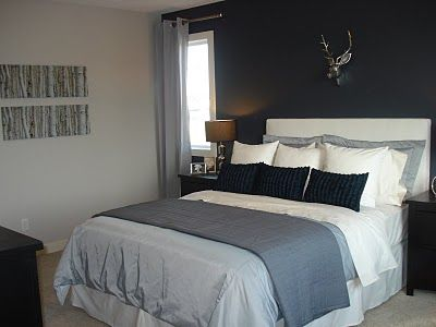 Deer Head Over Bed Dream Home Pinterest Deer Heads