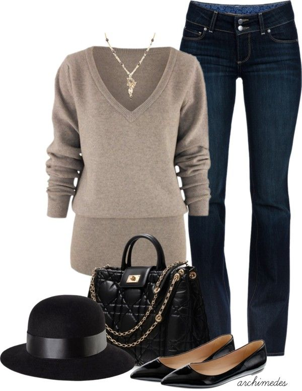 "Probably without the hat because I look ridiculous in anything other than a baseball hat but otherwise - total LOVE!  ""Be Myself"" by archimedes16 on Polyvore"