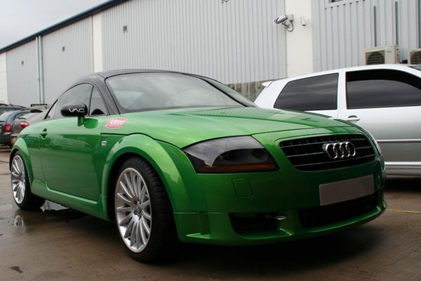audi tt green | Green Audi TT Coupe with BioDiesel Conversion