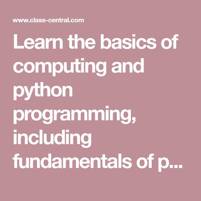 fundamentals of computing and programming Fundamentals of computing and programming in c is designed to serve as a textbook for students of engineering and computer science the book begins with an introduction to computer basics, explains number systems, computer software, the internet and its applications, and algorithms, and then moves on to a detailed coverage of programming in c concepts such as compilers, linkers, loaders, data.