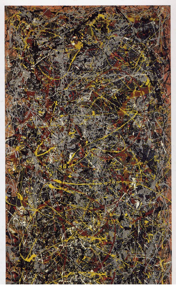 Jackson Pollock, No 5, 1948