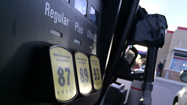 The average gas price on Monday morning was $1.998 per gallon, AAA said.