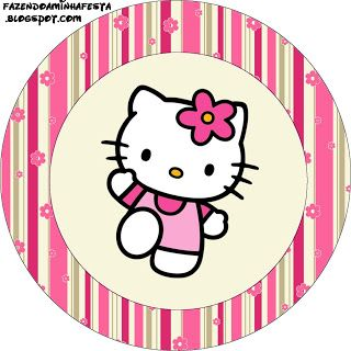 Hello Kitty Birthday Kit II - Invitations, boxes, labels, images & more. X