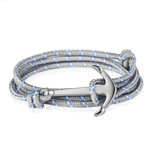 Bracelets anchor Anchor jewelry can symbolize stability and a strong foundation. It can be a great symbol to remind you to stay grounded or to symbolize a stable or grounding relationship.