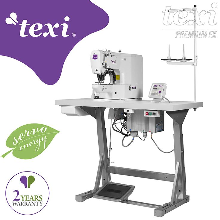Texi Catenaccio Premium EX - Electronic bartacking machine - complete sewing machine with 2 years warranty. #texisewing #sewingmachine #industrial