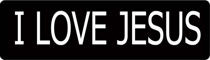 Motorcycle Helmet Stickers | Love JESUS Motorcycle Helmet Sticker