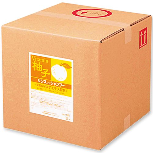 熊野油脂 スクリット リンスインシャンプー ゆずエキス 18L 1個の最安値