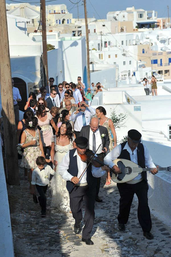 Destination Wedding in Santorini at Imerovigli Palace