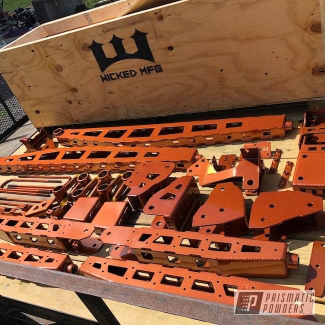 Prismatic Powders Powder Coated Rust Ford F250 Lift Kit Lifted Trucks Ford Trucks Lift Kits