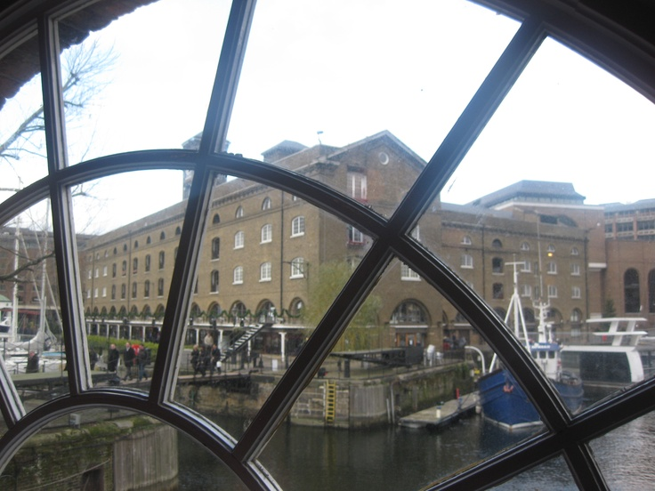 Both Nate and Addie live at St Catherine's Docks in London. He in a penthouse, she in a canal boat!