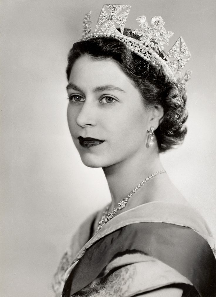 The Queen of England, Queen Elizabeth II.                                                                                                                                                     More