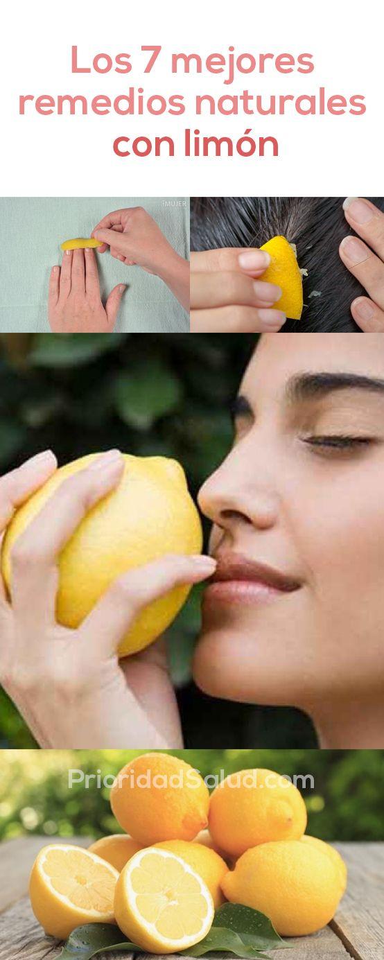 Los 7 mejores remedios naturales del limón