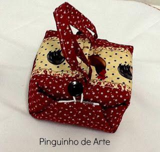 Pinguinho de Arte: PAP Lancheira Tem moldes e PAP