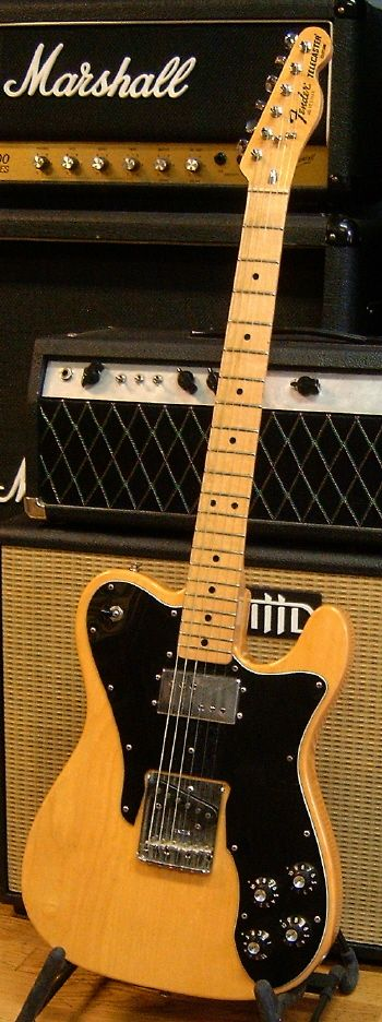 A 1977 Fender Telecaster Custom... do not gas, do not gas...