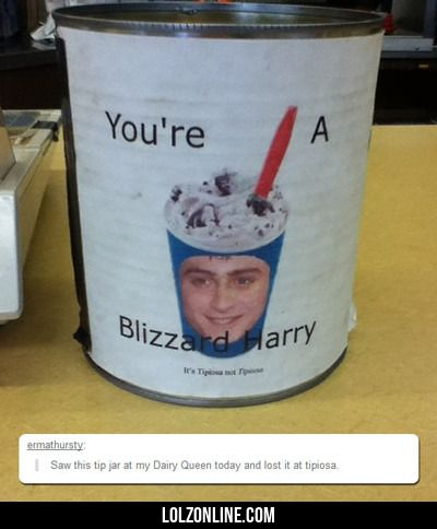You're A Blizzard Harry...#funny #lol #lolzonline