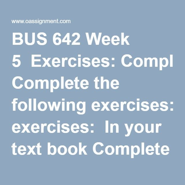 BUS 642 Week 5  Exercises: Complete the following exercises: In your text book Complete Making Research Decisions, 2, page 450  Discussion 1, Data Preparation and Description