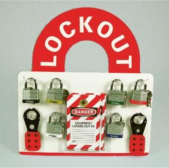 LOCKOUT CENTER, BINLINGUAL, EQUIPPED