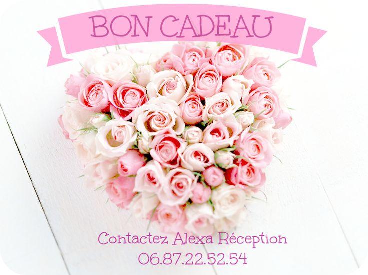 Offrez un bon cadeau pour une st Valentin originale !  http://www.alexareception.fr/fr/blog/23-comment-faire-plaisir-pour-la-st-valentin.html