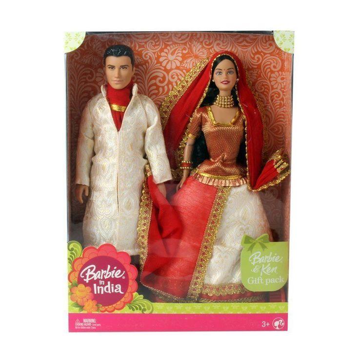 Indian Barbie & Ken India Mattel (Color May Vary)  Christmas gift Barbie #Mattel #Dolls