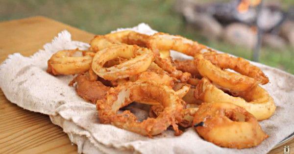Secret Ingredient Onion Rings