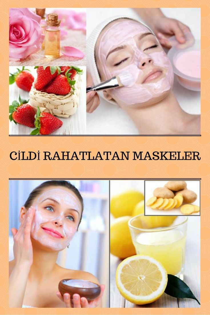 Kullanır kullanmaz ferahlığı hissedeceğiniz cildi rahatlatan doğal maskeler.