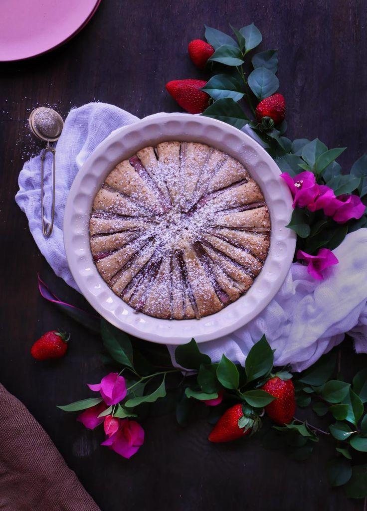 Pastel de Ruibarbo | Rhubarb Cake