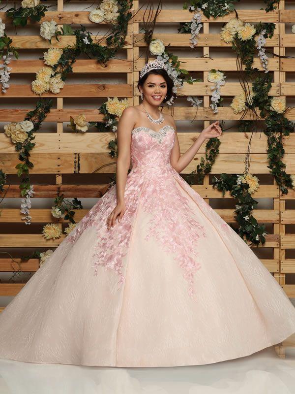 c29a2571c58 Vestidos de princesa para quinceañera 2018 DaVinci Bridal