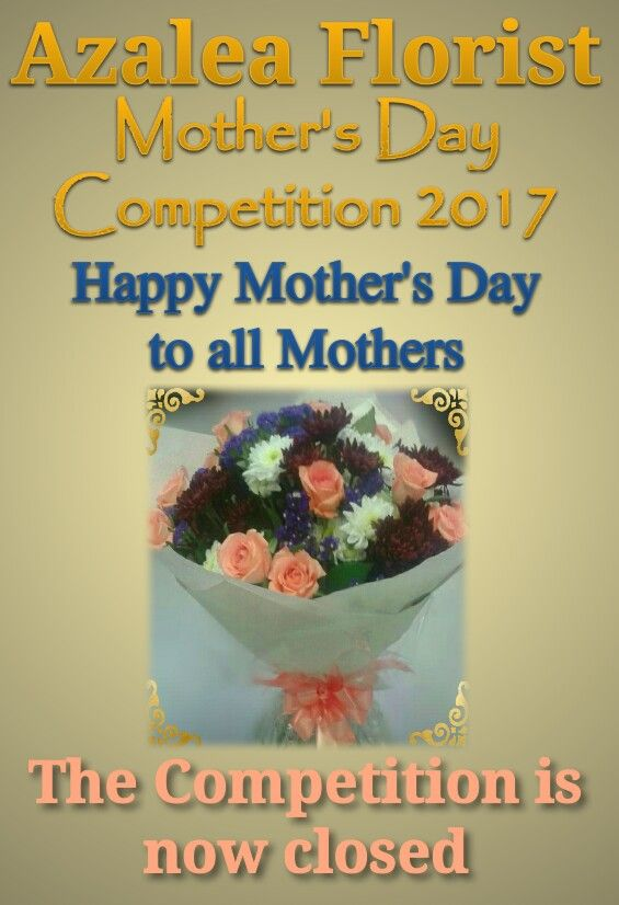 Thank you very much for all the likes and shares for the Azalea Florist - Mother's Day Competition 2017. We have beautiful fresh flowers in stock for Mother's Day. Please feel free to visit us today in the mall to collect a bunch of flowers for that special Mom in your life. The Competition winner wil be announced as soon as possible.