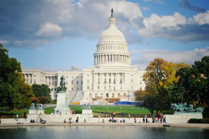 Le Capitole à Washington DC, Washington, District de Columbia, États-Unis