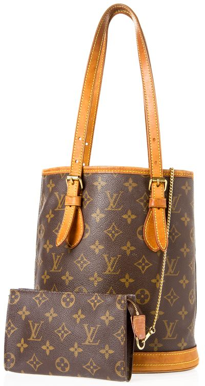 """Louis Vuitton Monogram Shoulder Bag This classic Louis Vuitton shoulder bag has buckles on the straps and a light brown leather trim. This bag has slight signs of wear but still in good condition for an older bag. Has a small wallet pouch attached inside.  Date Code: VI1000 Interior zip and flat pocket Length 8.5"""" Width 6"""" Height 10"""" Strap Drop 8"""""""