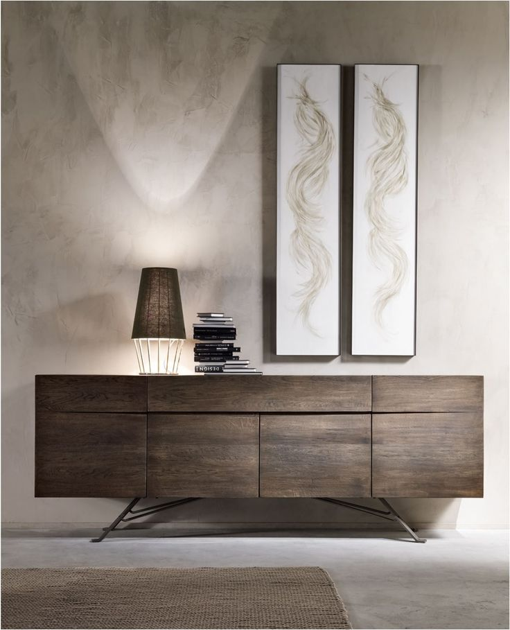 ENTRYWAY IDEAS FOR YOUR HOME | Modern sideboard for your entryway  | bocadolobo.com/ #modernentryway #entrywayideas