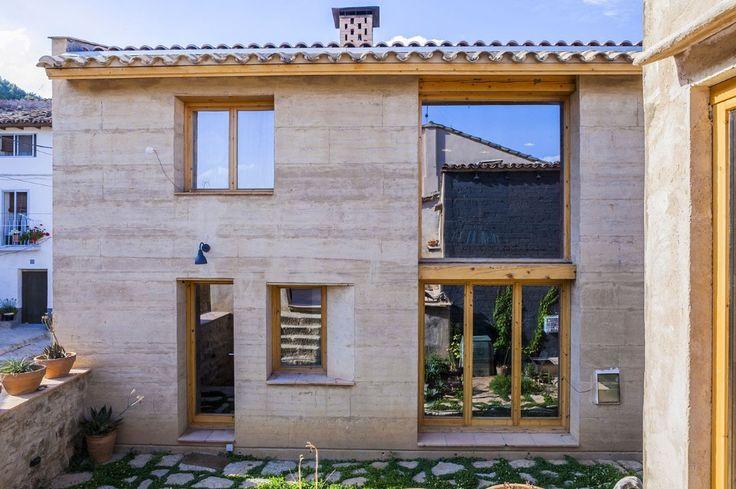 Casa in terra battuta