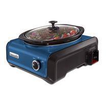 Crock-Pot® Hook Up® Connectable Entertaining System, 3.5-Quart, Metallic Blue