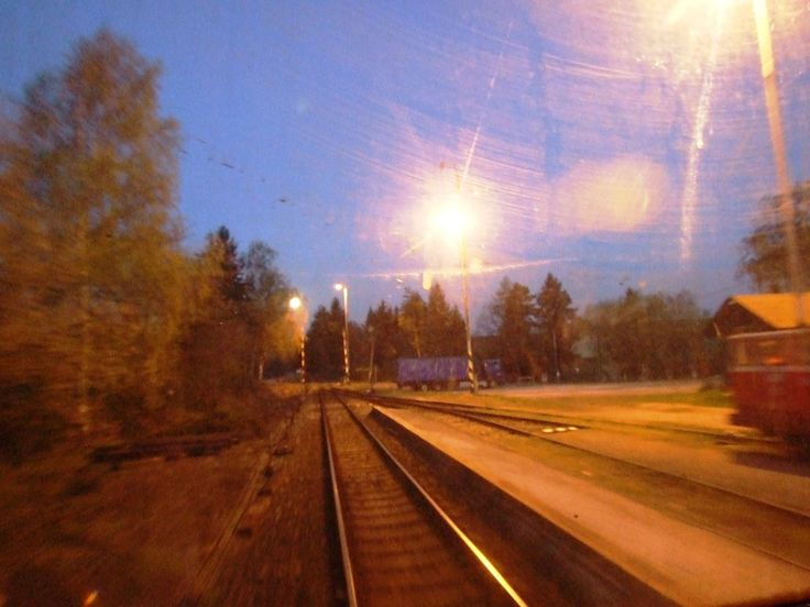 Full Moon up the crossing