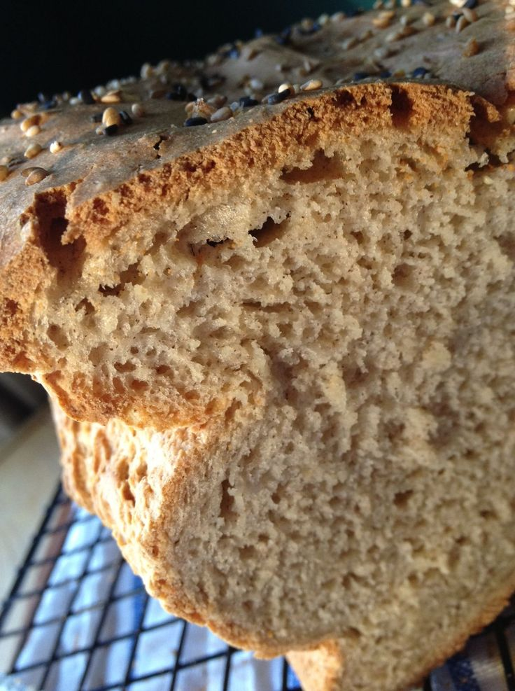 Soft, fresh gluten free bread made with gluten free beer.