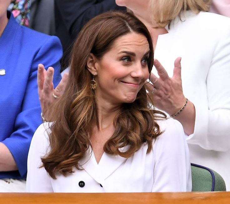 Kate shuns Royal Box for Court 14 at Wimbledon to see Brit star in action
