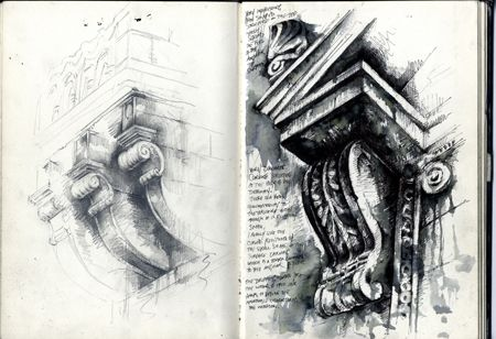 Architectural Studies » Ian Murphy Sketchbooks