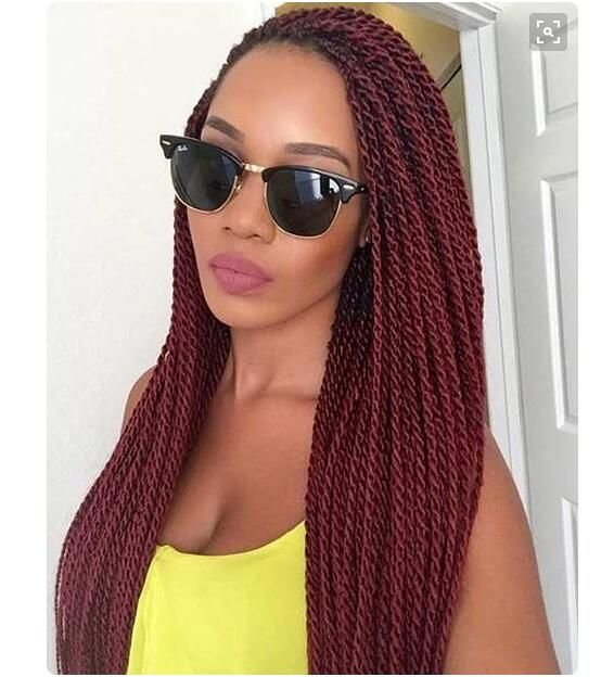 HIGH QUALITY Crochet Braids Hair Extensions Synthetic Braiding Hair style Havana Mambo Senegalese Twist Hair crochet braids