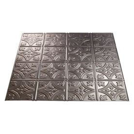 Fasade 23-3/4-in x 23-3/4-in Fasade Traditional Ceiling Tile Panel  - for the front of the dishwasher. -  $17.77