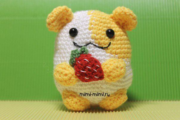 Frida Kahlo Amigurumi Free Pattern : Hamster amigurumi Free pattern Cute Inspiration ...