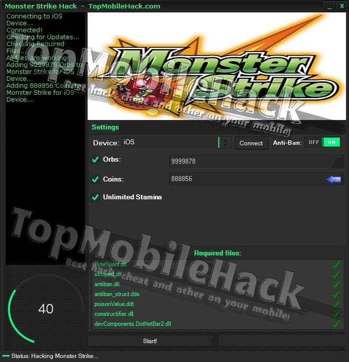 Monster Strike Hack Cheat Tricher