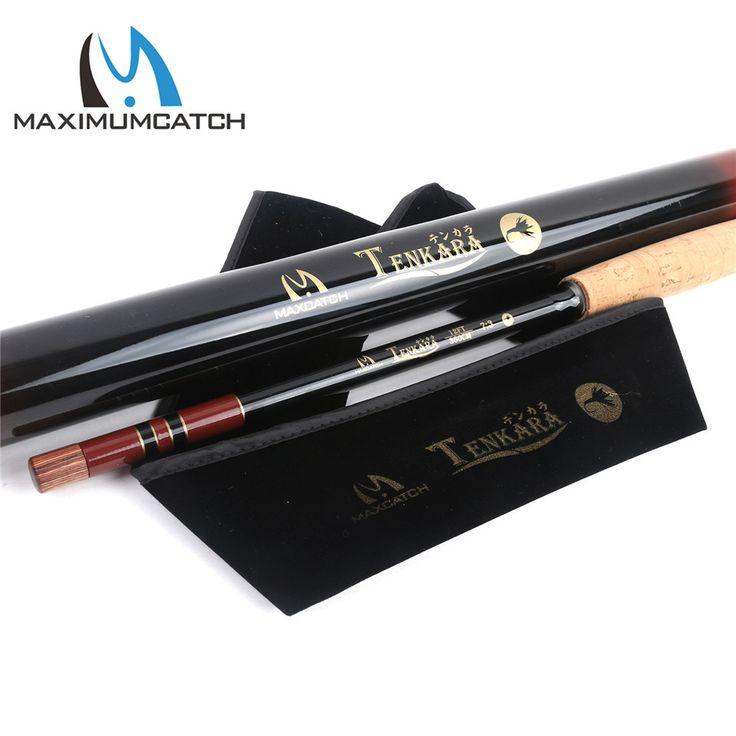 Maximumcatch 11FT/12/13FT (3.3/3.6/3.9M) Tenkara Rod Telescoping Fly Fishing Rod Graphite Fishing Pole & Carbon Tube