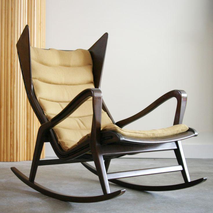 Gio Ponti Rocking Chair