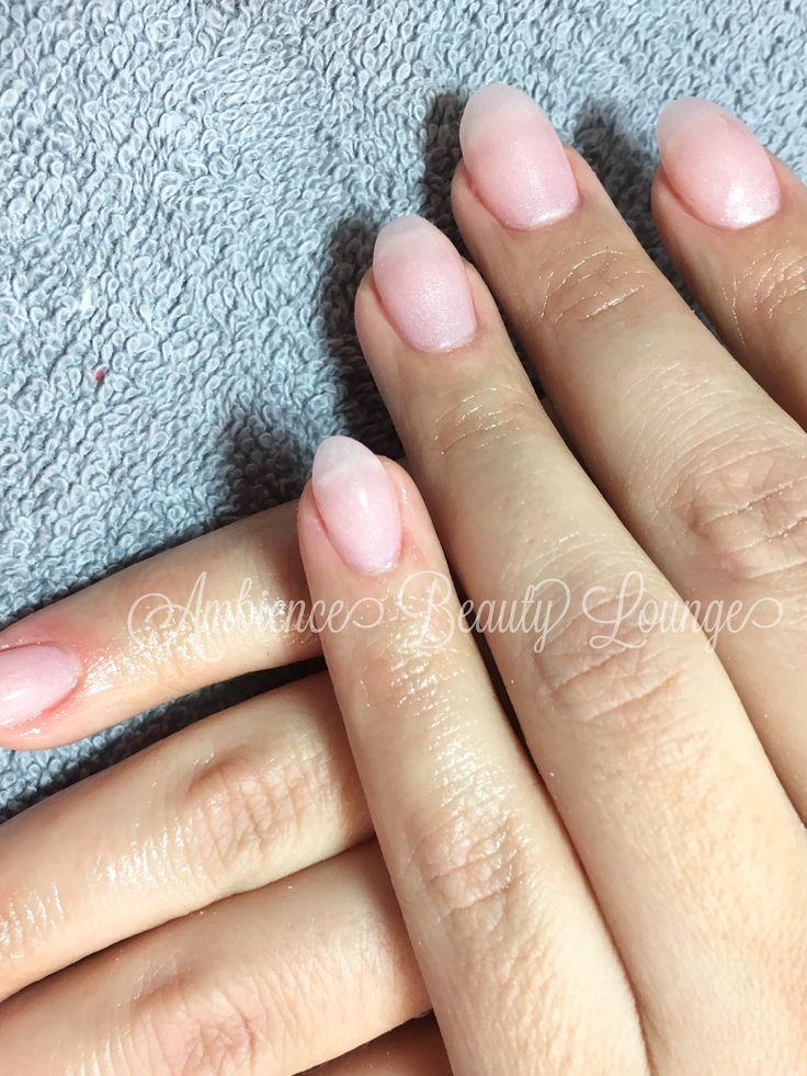 Polygel nails #gelish #natural nails